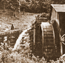 Photo of Water Wheel at Old Mill